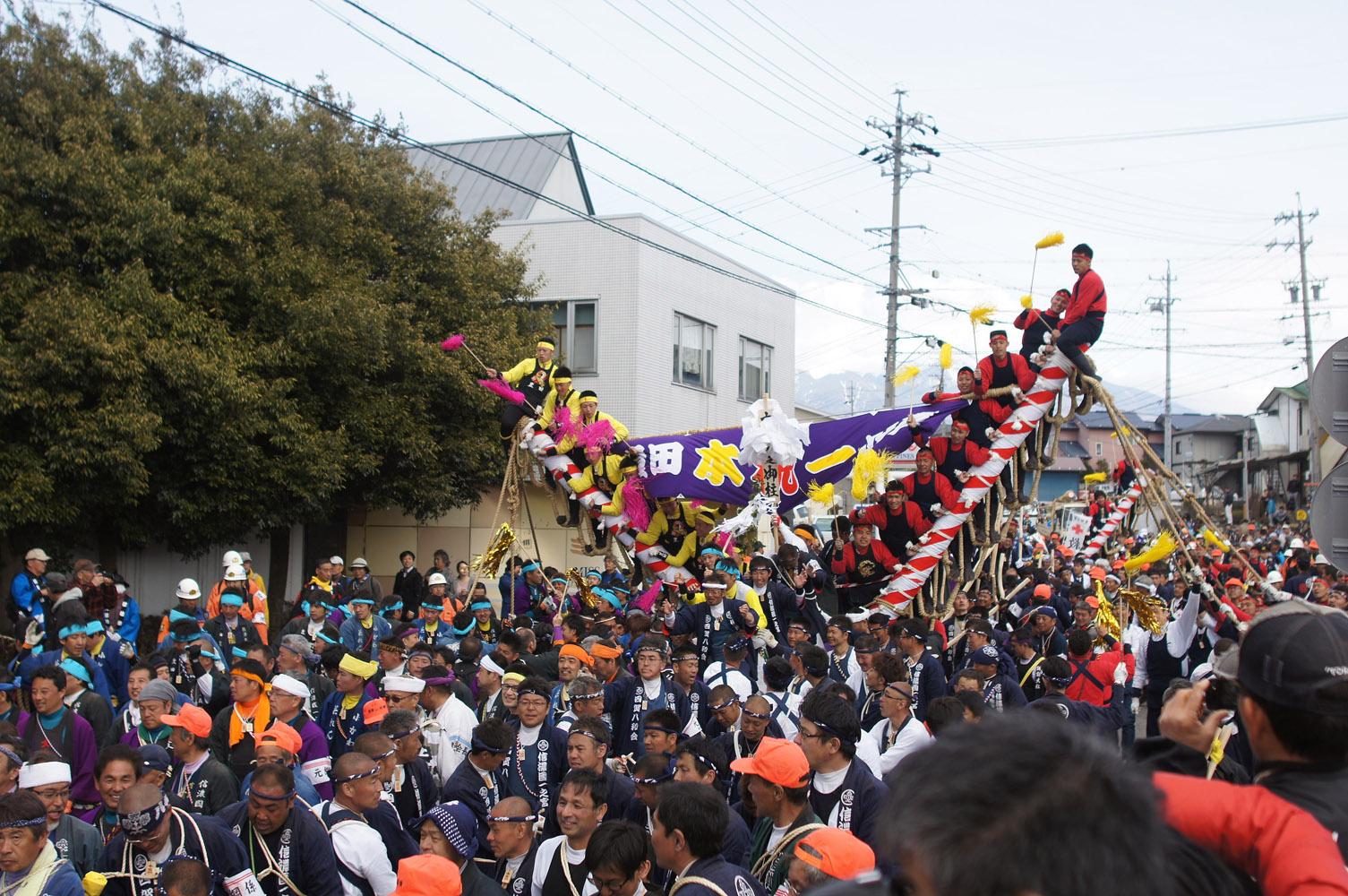 諏訪大社 御柱祭09