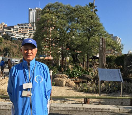 熱海ボランティアガイド 田中明博さん