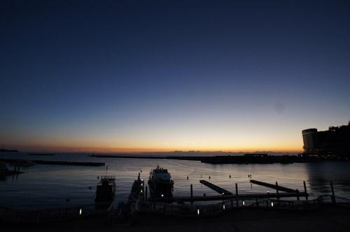 熱海ムーンデッキから望む空