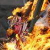 【熱海】小さな神社でどんど焼き