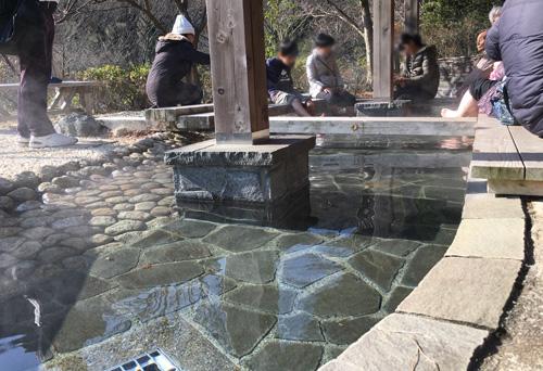 熱海梅園 足湯