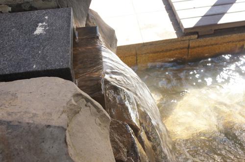 熱海 家康の湯 湯口