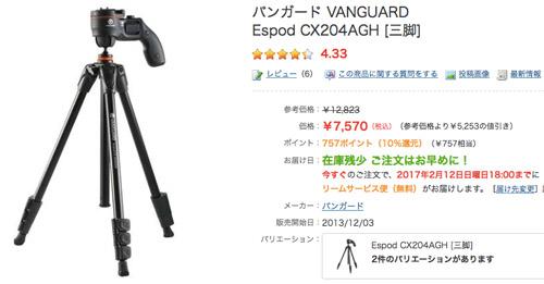VANGUARD CX204AGH