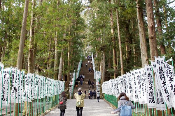 熊野本宮大社 参道