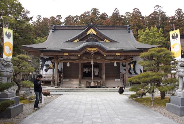 熊野大社本宮 拝殿