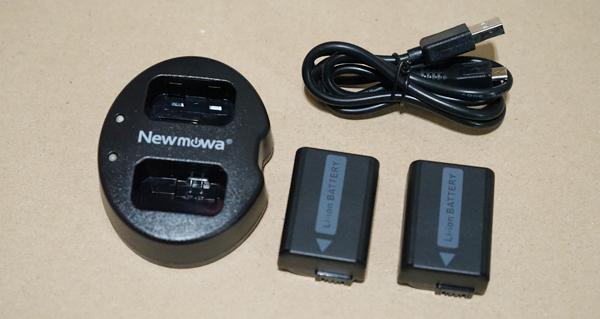 バッテリー2個 充電器 ケーブル