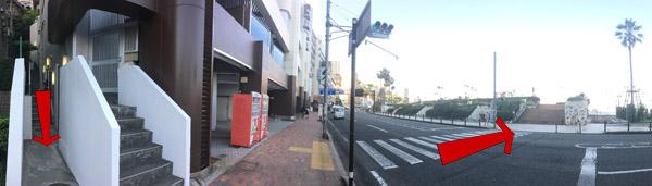熱海サンビーチまでの近道