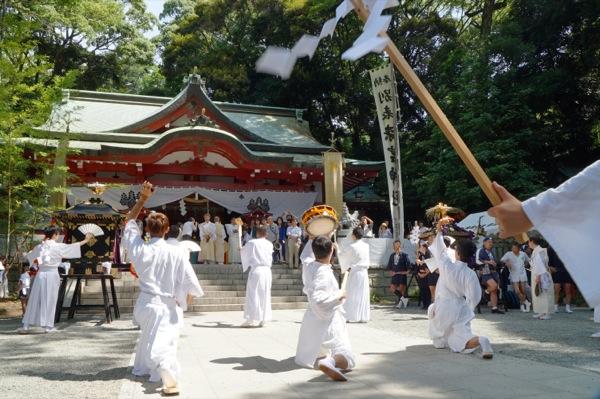 06_來宮神社 鹿島踊(かしまおどり)