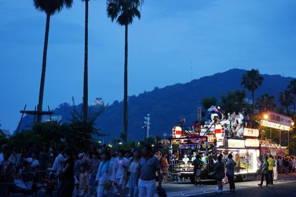 山車 来宮神社 こがし祭り