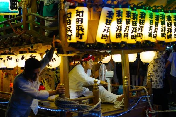 36_和田浜山車 来宮神社 こがし祭り