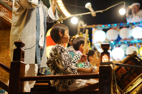 38 来宮神社こがし祭り山車