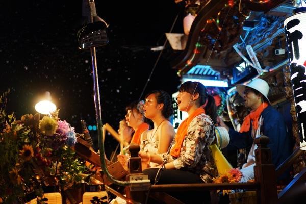 40_新宿町 来宮神社こがし祭り山車