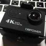 【アクションカム】DBPOWER 4K 設定画面解説