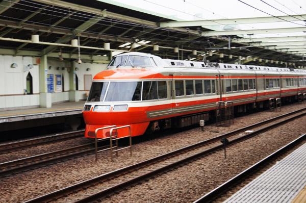 小田急線ロマンスカー_古い車両