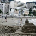 【熱海】ビーチに砂のお城が出来ていた!?