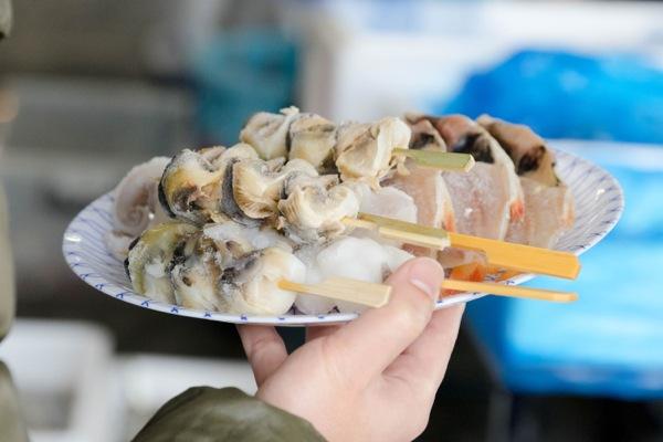 熱海魚祭り07_浜焼き材料