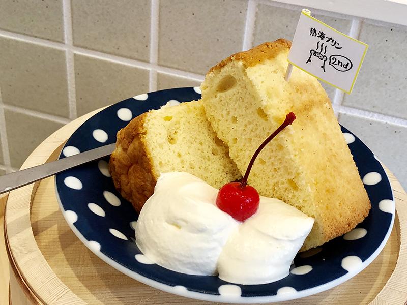熱海プリン2nd シフォンケーキ